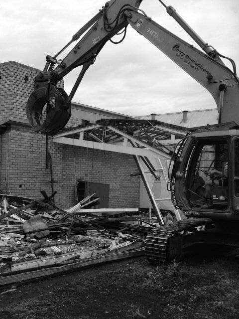 Geelong demolitions