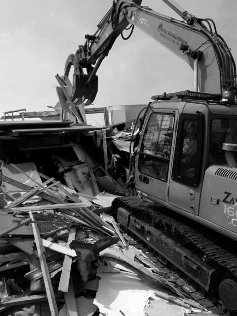 Demolition services in Victoria